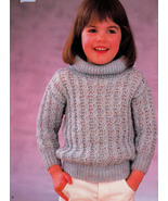 FAST & FUN HURRY KNITS FOR MOMS & LITTLE GIRLS BEEHIVE PATONS 465  - $4.98