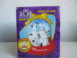 Disneys 101 Dalmations Snow Dome Snow Furries - $6.29