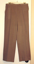 SAG HARBOR STRECH ( 12 ) PANTS - BEIGE - POLYESTER/RAYON/SPANDEX - $7.99