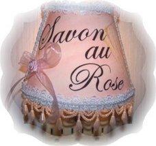 French Paris Apt Chic! Savon Au Rose Pink Night Light - $17.99