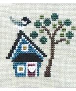 Black Capped Chickadee Kit cross stitch kit Bent Creek  - $20.00