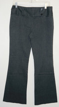 Star City Black Pin Stripe Career Pants 7 Stretch Editor Boot Cut Flare ... - $15.79