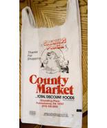 90s Vintage Plastic Grocery Bag Groundhog Plaza Punxsutawney Big Bag TLC... - $29.65