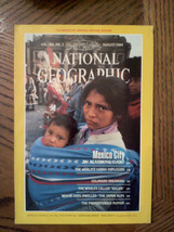 Aug 1984 National Geographic Magazine Rockies Mexico City Colorado Whales Puffer - $8.91