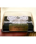 ✿ True Vtg Regence Belgian Lace Butterfly Pin 3D Wings Original Box Brux... - $79.15