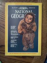 Feb 1985 National Geographic Magazine Nature Maine Maritime Poppy Mummy Mongolia - $8.85