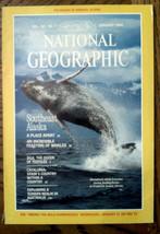 Jan 1984 National Geographic Nature Magazine Alaska Whales Catalonia Sink Holes - $8.91