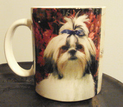 RARE Collectible Coffee Mug Shih Tzu Puppy Toy ... - $18.76