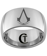 12mm Dome Tungsten Carbide Assassin's Creed Las... - $49.00