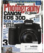 APR 2006 Popular Photography & Imaging Magazine Canon EOS, Photoshop Issue - $9.85