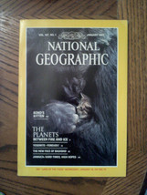 Jan 1985 National Geographic Nature Magazine Yosemite Baghdad Ape Kitten Jamaica - $8.91