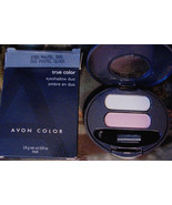 "NEW Retired True Color "" Iced Pastel "" Eye Shadow Duo Powder Baby Blue &... - $13.81"