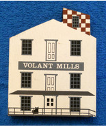 Cats Meow Village Volant Historic Grist Mills Pennsylvania Wood Sign Fal... - $19.75