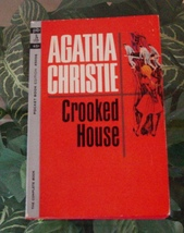 Agatha Christie CROOKED HOUSE 1964 Pocket 45006 American Vintage Paperback - $9.99