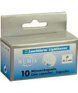 26.5mm-Small Dollar, Coin Capsules, 10 pack - £4.94 GBP