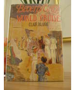BEVERY GRAY ON A WORLD CRUISE #6 GIRLS MYSTERY SERIES HC/DJ Clair Blank  - $22.00