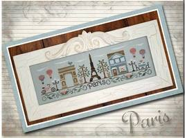 Afternoon In Paris cross stitch chart Country Cottage Needleworks - $7.20