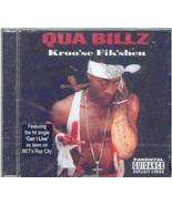 Qua Billz: Kroo'se Fik'shen (BRAND NEW CD) - $11.00
