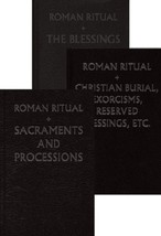 Roman Ritual, The [Rituale Romanum] - 3-Volume Set