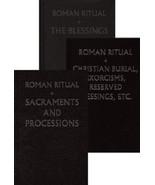 The Roman Ritual,  [Rituale Romanum] - 3-Volume Set - $175.95