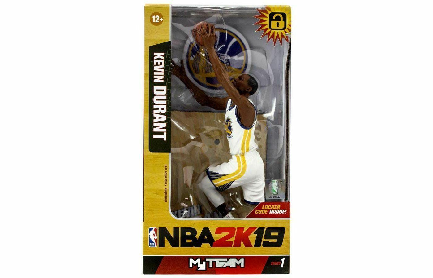 Kevin Durant (Golden State Warriors) McFarlane NBA 2K19 Series 1