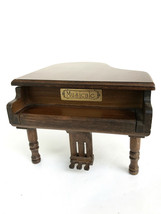 The San Francisco Musicale Box Company Brown Grand Piano Plays Fir Elsie - $24.99