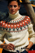 Fair Isle Knits Beehive 435 Cardigan Pullover Gorgeous! - $4.98