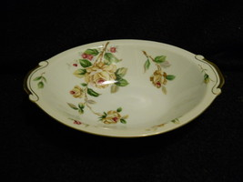 Lynmore Golden Rose Oval Serving Bowl - $14.31