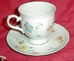 INTERNATIONAL RHYTHM CHINA MEADOWBROOK CUP AND SAUCER - $3.95
