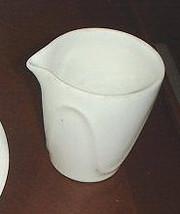 Dansk Origami Talc White Creamer - $6.92