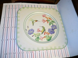 LENOX SUMMER GREETINGS SQUARE PLATTER - $29.65