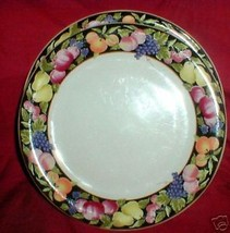VITROMASTER FRUIT GARDEN DINNER PLATE - $10.54