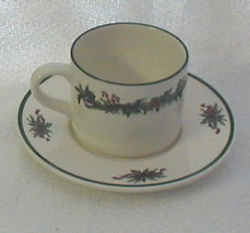 The Cellar O'TANNENBAUM Cup and Saucer Set - $6.92