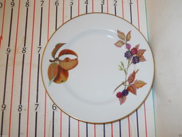 ROYAL WORCESTER EVESHAM BREAD PLATE - $3.91