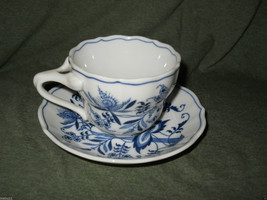 BLUE DANUBE CUP AND SAUCER SET - $3.95