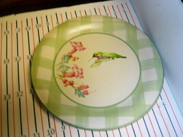 LENOX SUMMER GREETINGS DINNER PLATE HUMMINGBIRD - $14.80