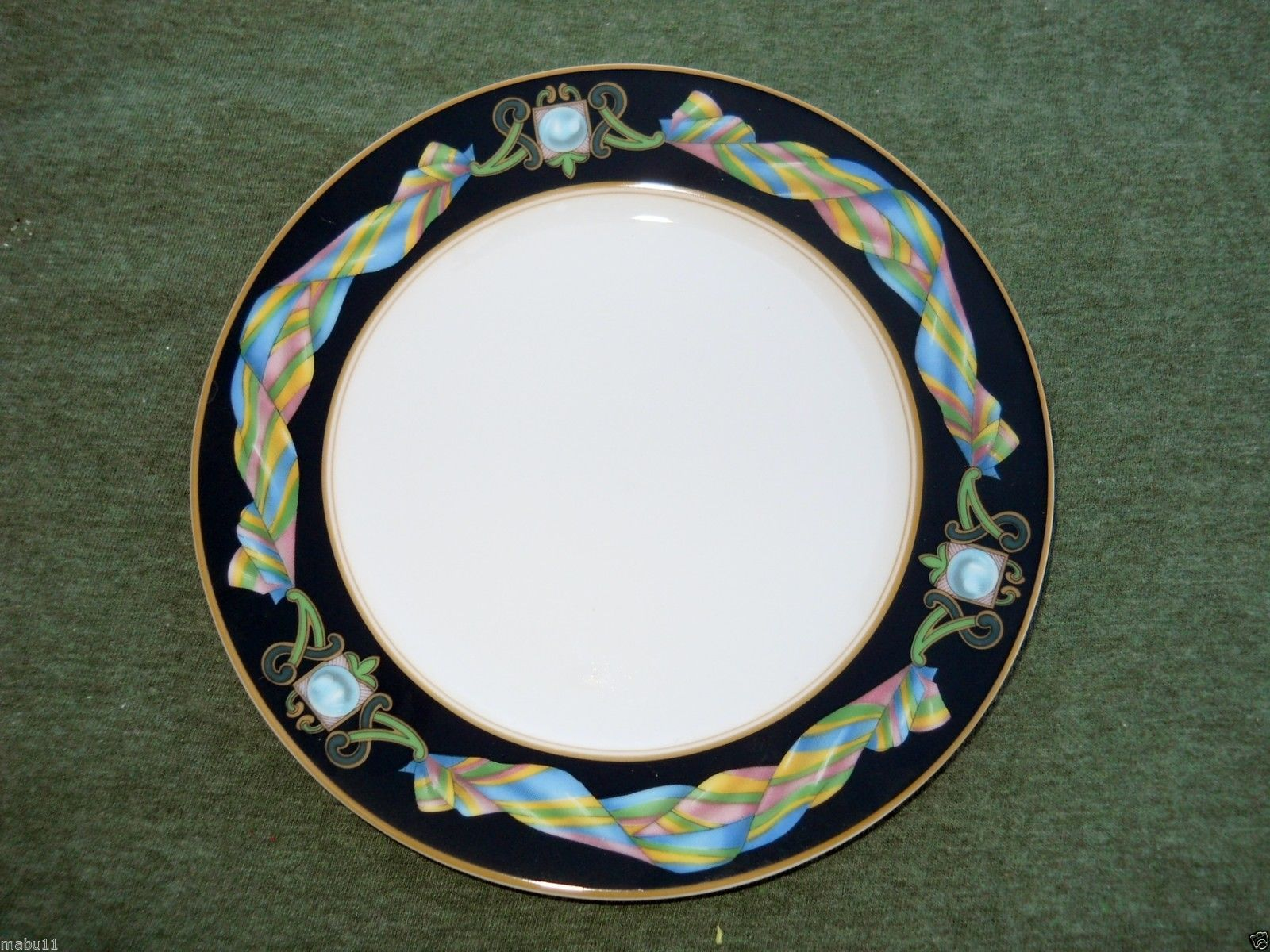 Primary image for FITZ & FLOYD RUBAN DINNER PLATE