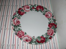 "Block Spal China Rose Garden 10 5/8"" Dinner Plate - $11.87"