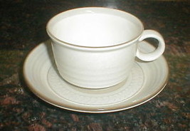 MIKASA CERA STONE CLARIDGE CN 118 CUP AND SAUCER - $6.92