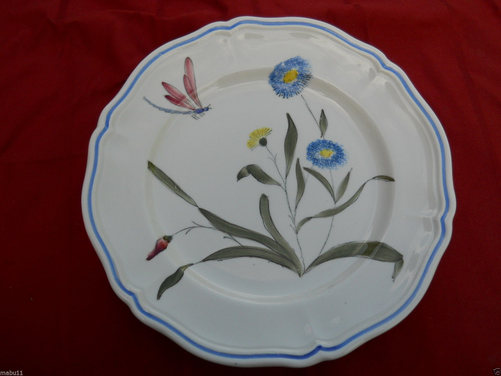 Primary image for LONGCHAMP LIBELLULE SALAD PLATE