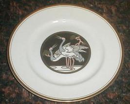 Fitz & Floyd Les Cigogne Crane Bird  Salad Plate - $6.88