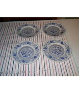 WEDGWOOD BLUE HERITAGE  LOT OF 4 BREAD PLATES - $12.82