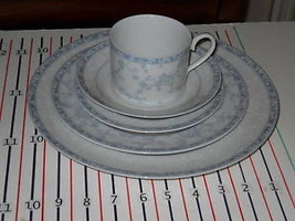 NORITAKE LACE SHADOW 5 PIECE PLACE SETTING - $23.64
