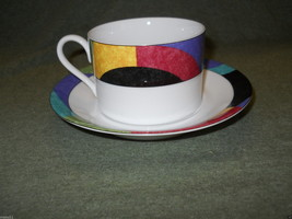 MIKASA CURRENTS CUP AND SAUCER SET M5101 - $2.86