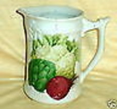 PHILIPP DESHOULIERES VEGETABLEA WATER PITCHER - $22.76
