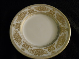 "Wedgwood Columbia Gold 6"" Bread Plate - $8.86"