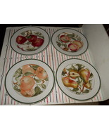 AMERICAN ATELIER BLOSSOM BREEZE  SET OF 4 SALAD PLATES - $19.75