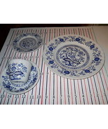 WEDGWOOD BLUE HERITAGE  4 PIECE PLACE SETTING - $19.75