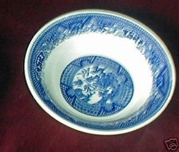 ROYAL CHINA BLUE WILLOW FRUIT BOWL - $4.46