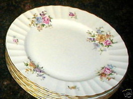 ROYAL WORCESTER WHITLEY GARDEN SALAD PLATE - $7.87